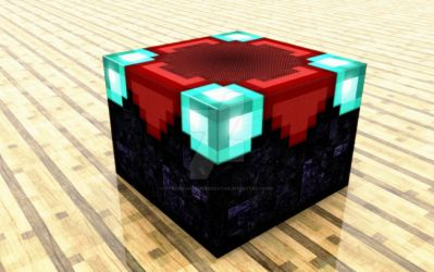 Minecraft Enchanting Table by TheOneAndOnlyCreator