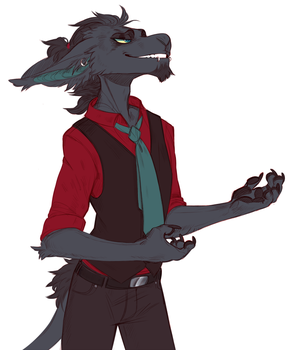 Coloured Gentleman by LiLaiRa
