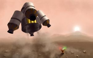 duna landing by ChestyMcGee