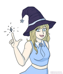 Ice witch by Chibiklompen