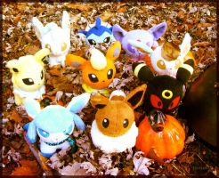 Eevee Autumn by Fishlover