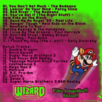 The Wizard Soundtrack Back by Defiant-Dragyn