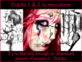 Cracks 1 and 2 by ttbloodlusttt