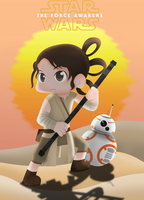 Rey Star Wars by Leesdg
