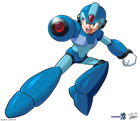 Mega Man X by Gregarlink10