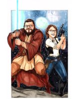WeddingStarWars by DKHindelang