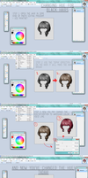 TUTORIAL| How2: Change Hue on Hairs by M-i-i