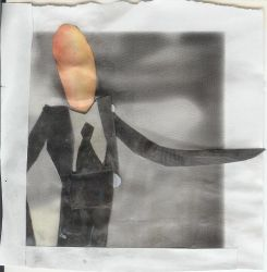 Slenderman Polaroid by GiaGorilla