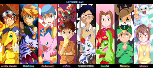 DIGIMON - Collab by Adriano-Arts