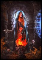 The sorceress by saritaangel07