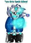 .:UT New World:. Wingding Sans full color by Evil-Black-Sparx-77
