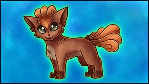 Commission: Vulpix by Petuniabubbles
