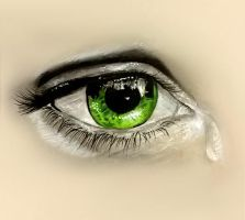 Eye Drawing by Kaitlin73