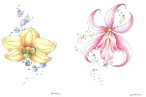 Orchid Tattoos by SinisterVibe