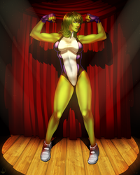 She-Hulk Collab by WhitneyCook
