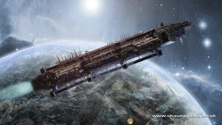 CDF Xenon - freighter by madaboutgames