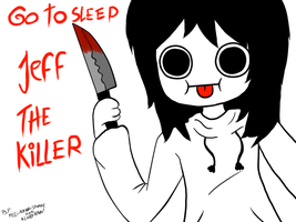 Jeff The Killer Derp Face by bloody-kazu