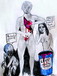 The Love Donation by JOHNNYFB