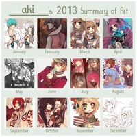 [ 2013 ] art summary by akiicchi
