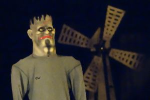 FrankensteinsightingaroundStevens PointWI10/24/15 by Crigger