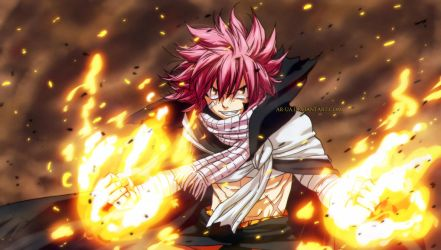 Fairy Tail: Natsu after 1 year by AR-UA