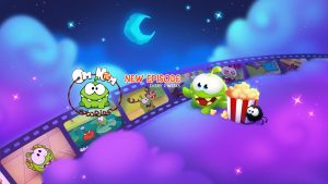 Cut the Rope and Om Nom Stories Youtube cover by Beffana