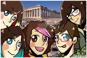 Good memories from Greece~ by Nyoonchan