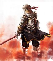 Warrior.... speed painting by longai