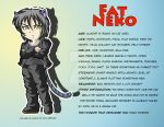 Fat Neko Character Profile Sheet by Reenave