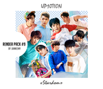 [UP10TION - Stardom] RENDER PACK #9 by Junneemy