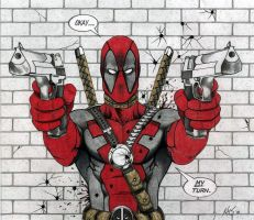DEADPOOL - colored by KSowinski