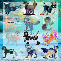 4Ocean Charity PupPoppy Adopts (4/12 Open) by HimeSara84