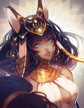 Bastet by Saiprin