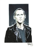 Ninth Doctor sketch by elena-casagrande