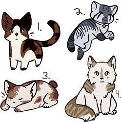 MG Free Cat Adopts! CLOSED by Abattack123