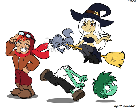 Quite a Cast by YoshiMan1118