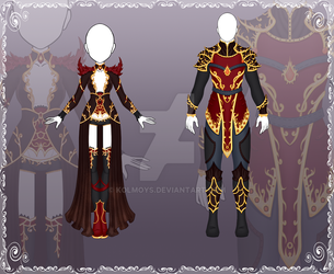 [Close] Adoptable Outfit Auction 118-119 by Kolmoys
