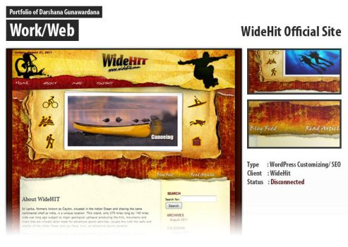 WideHit Official Theme by darshana4it