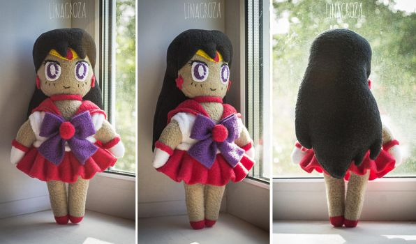 Sailormars plush by GreatQueenLina