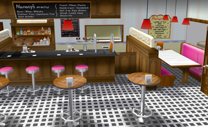 MMD Cutest bar by amiamy111