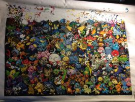 Pokemon All Gens - 4th row complete by samarin6