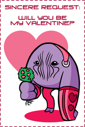 Elcor Valentine by outlawink
