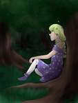 Peaceful Forest (CE) by PrincessRaevinFlash