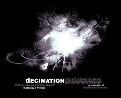 Decimation Brushes - PS7 by kabocha