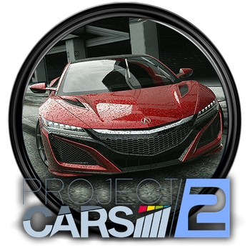Project Cars 2 Game Icon [512x512] - 2 by M-1618