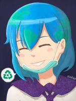 Earth-chan! by scalizo