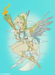OW: Summer Games Mercy by Vaahlkult