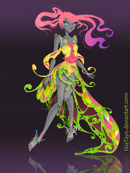 (CLOSED) Adoptable Outfit Auction 1 (Butterflix) by NiaTayn