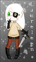 Laureleen - Little Pirate by parahoty
