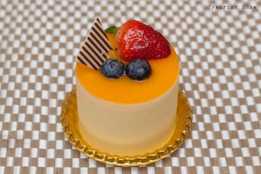 Mango mousse cake by patchow